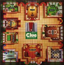 Clue game board